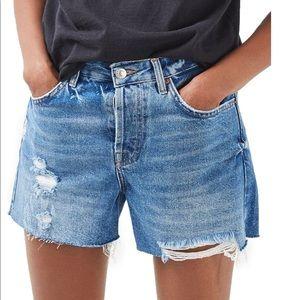 TopShop Ashley Ultimate Vintage Mid Rise Shorts